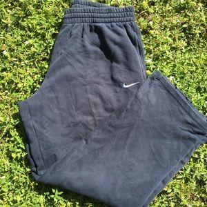 Nike navy sweatpants men
